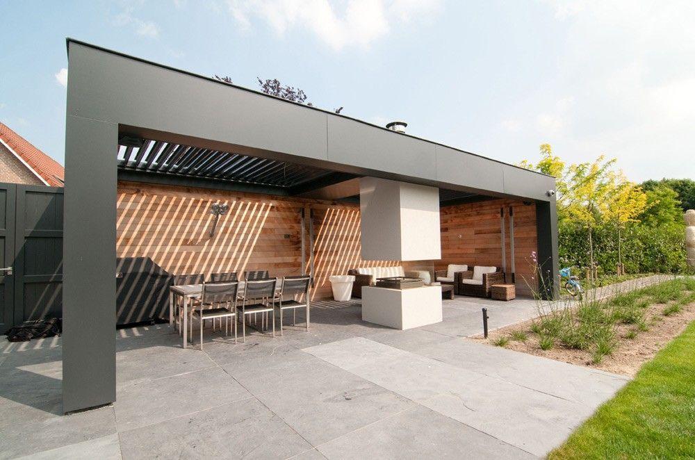 Terras overkapping met open haard google zoeken outdoor patio