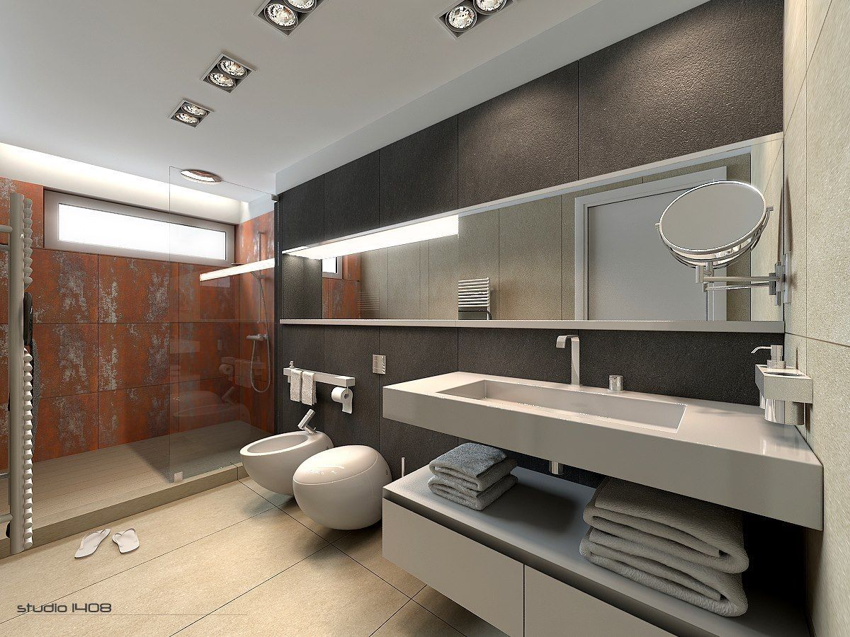 Large Bathroom Designs Fascinating Decorating Minimalist Bathroom Designs Look So Beautiful And Inspiration Design