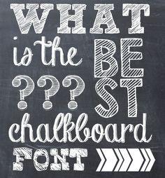 southardbelle free chalkboard fonts southern arrow
