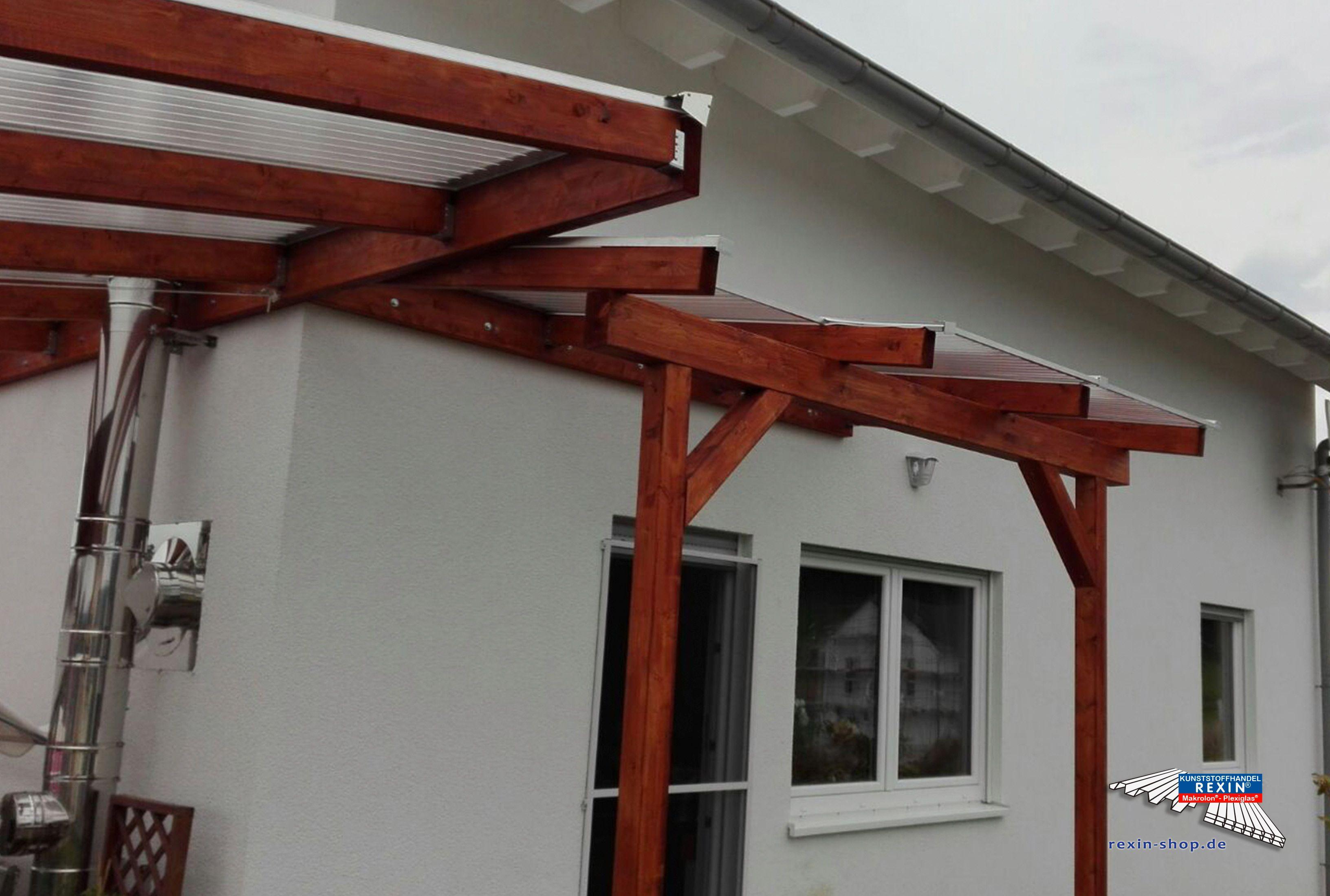 Pin von Kunststoffhandel Rexin GmbH auf Holz Terrassenüberdachung ...