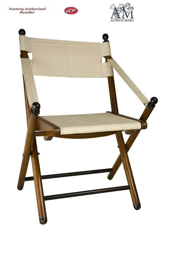 Incredible Details About British Campaign Style Folding Chair 36 Ncnpc Chair Design For Home Ncnpcorg