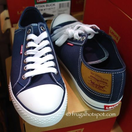 Costco Sale: Levi's Men's Stan Buck Canvas Shoes $14.99