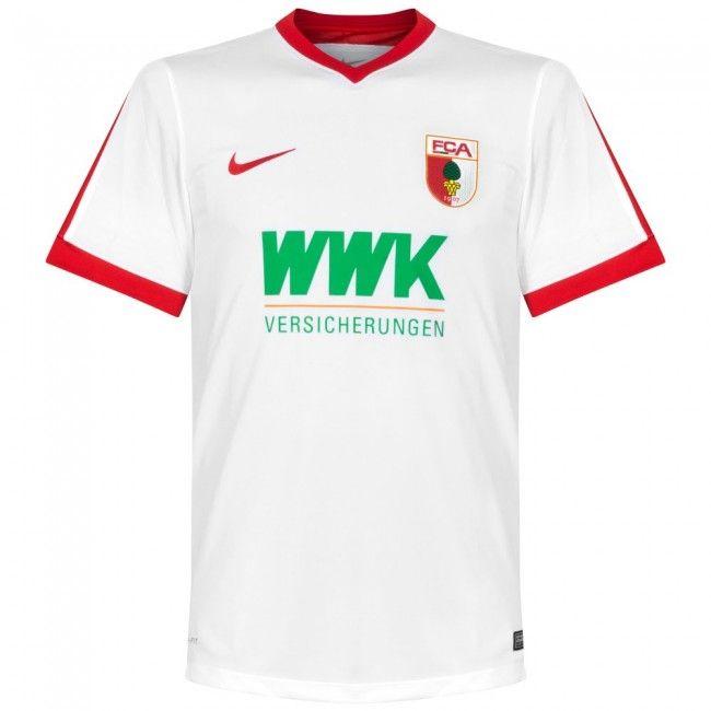 Camiseta del FC Augsburgo 2016-2017 Local  Augsburg  bundesliga Hamburgo bfd859a7d35c7