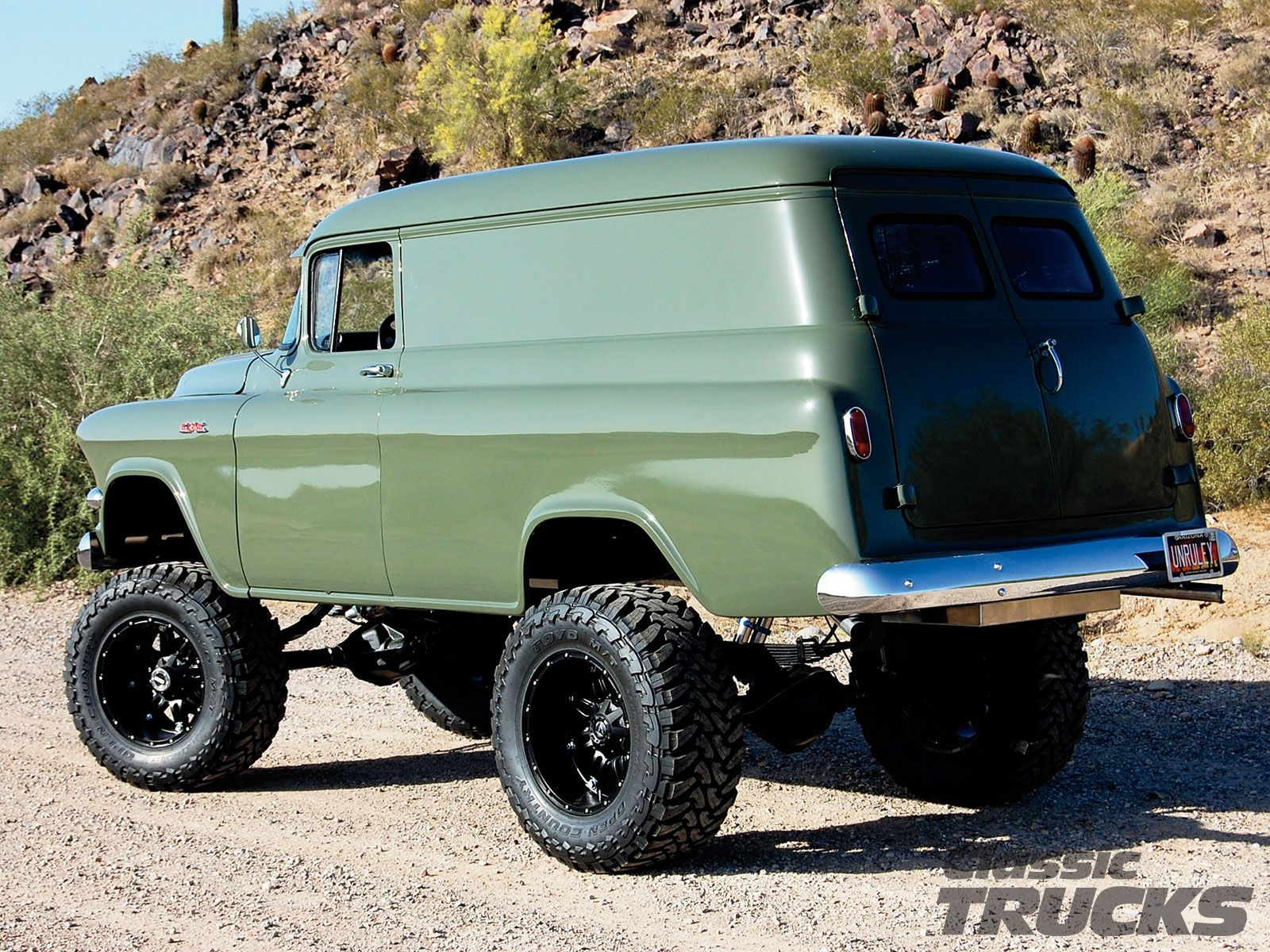 1957 Gmc Panel Truck The Ultimate Going Camping Or Put In Chevy 4x4 A Gun Rack And We Will Take On Zombie Hoards