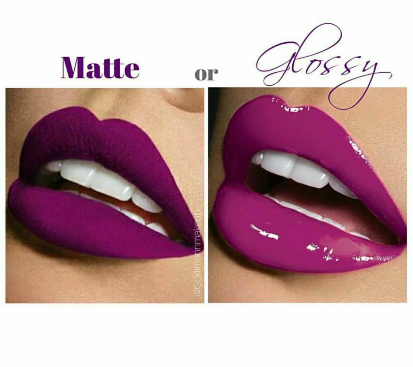 Matte Or Glossy Lips Which One Will You Choose Best Makeup