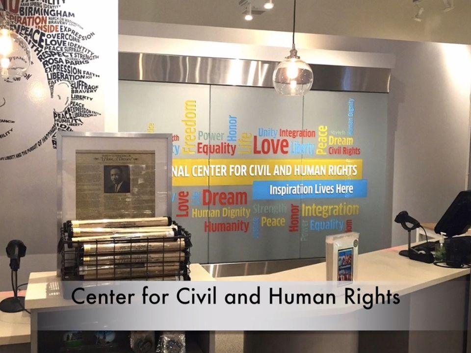 Center for Civil and Human Rights Gift Shop Atlanta, GA