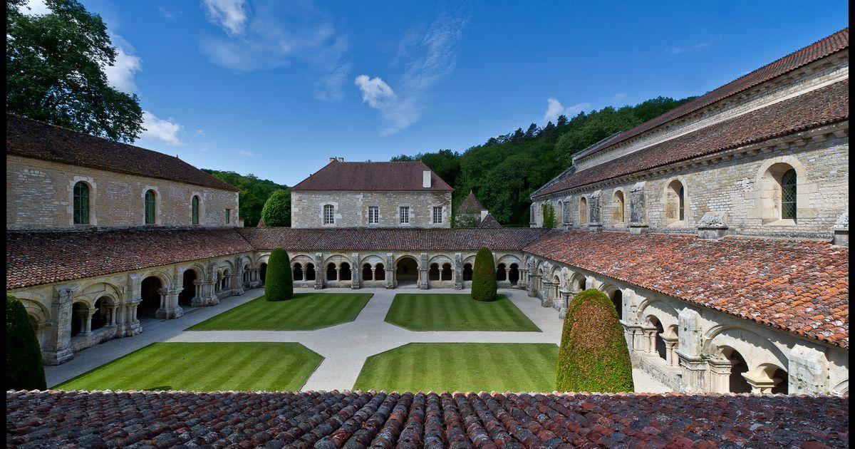 Image result for dijon abbaye de fontenay