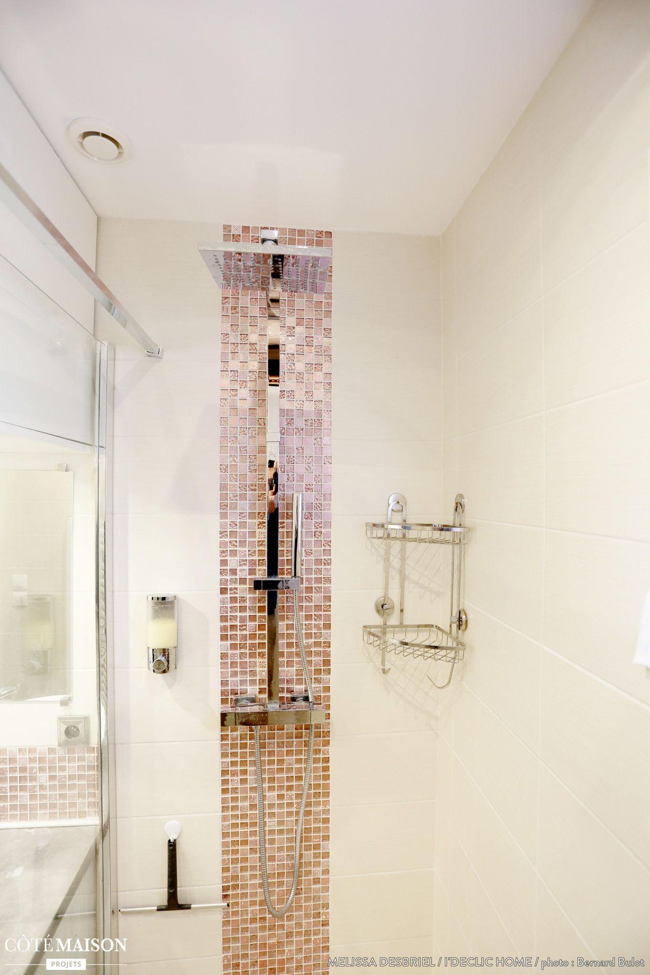 R novation d 39 une salle de bains de 3m2 m lissa desbriel for Salle de bain wc dans 3m2