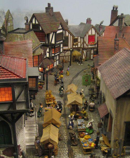 Dollhouse Miniatures Victoria Bc: Miniatures Houses/Villiage