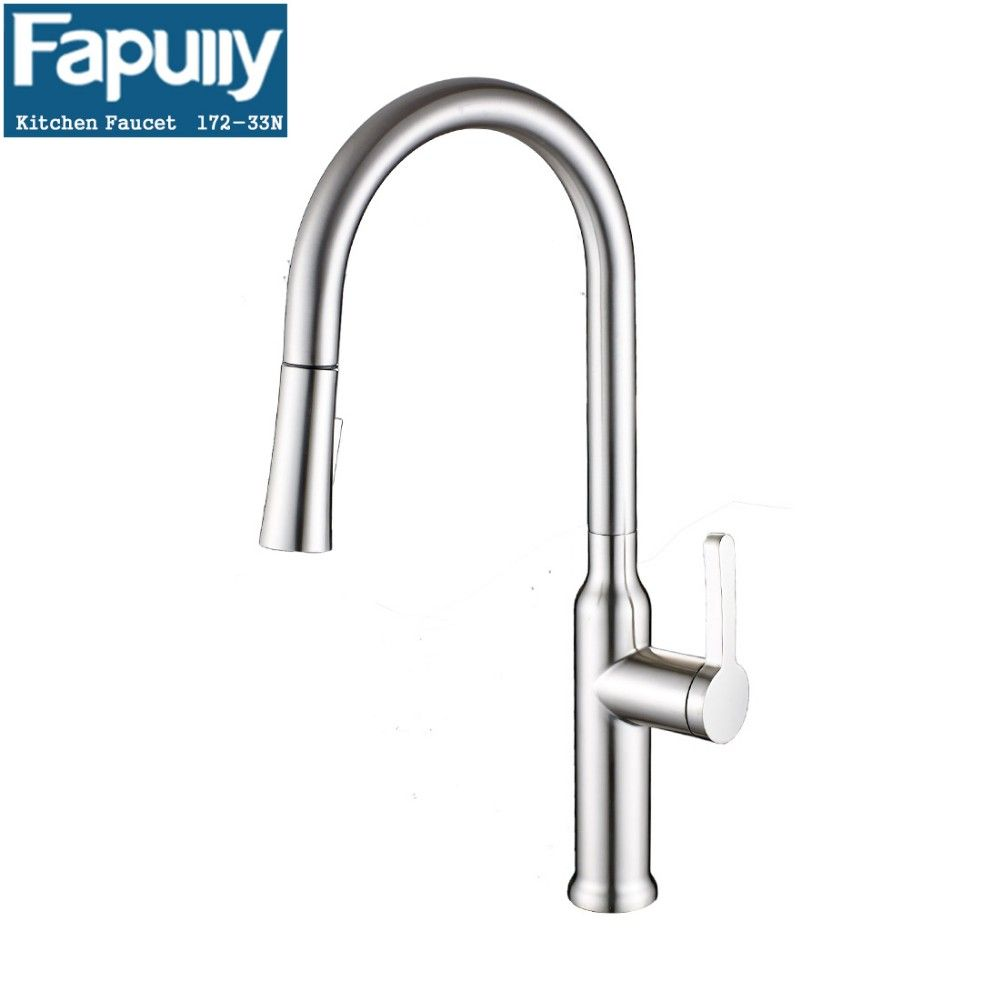Fapully Best Modern Stainless Steel Faucet Kitchen Mixer Tap  Buy Unique Discount Kitchen Faucets Design Decoration