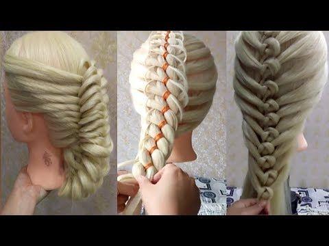 3 Peinados Faciles Y De moda con trenzs para Abril/ Peinados para