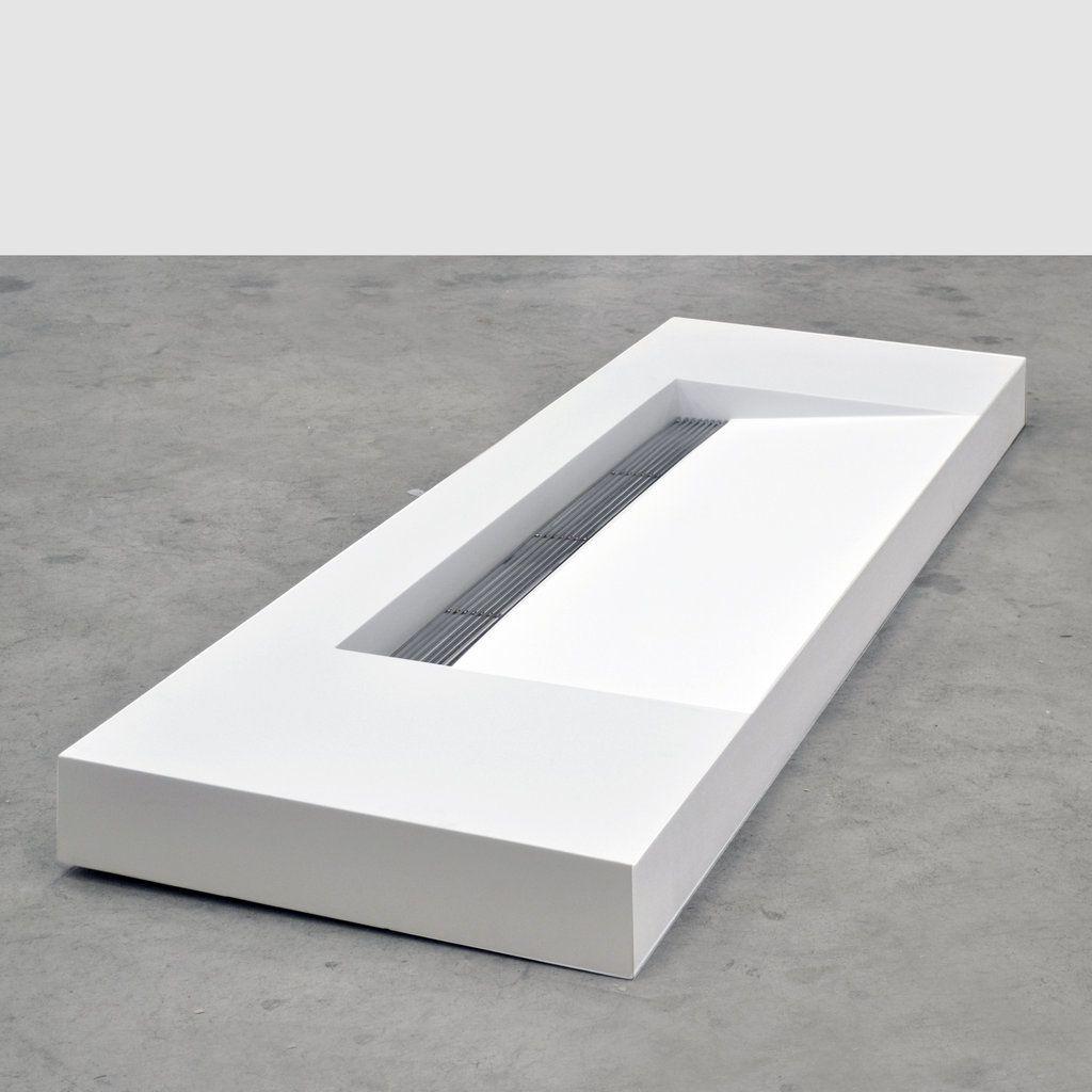 Kappa Solid Surface Wastafel Dubbel Hout In De Badkamer