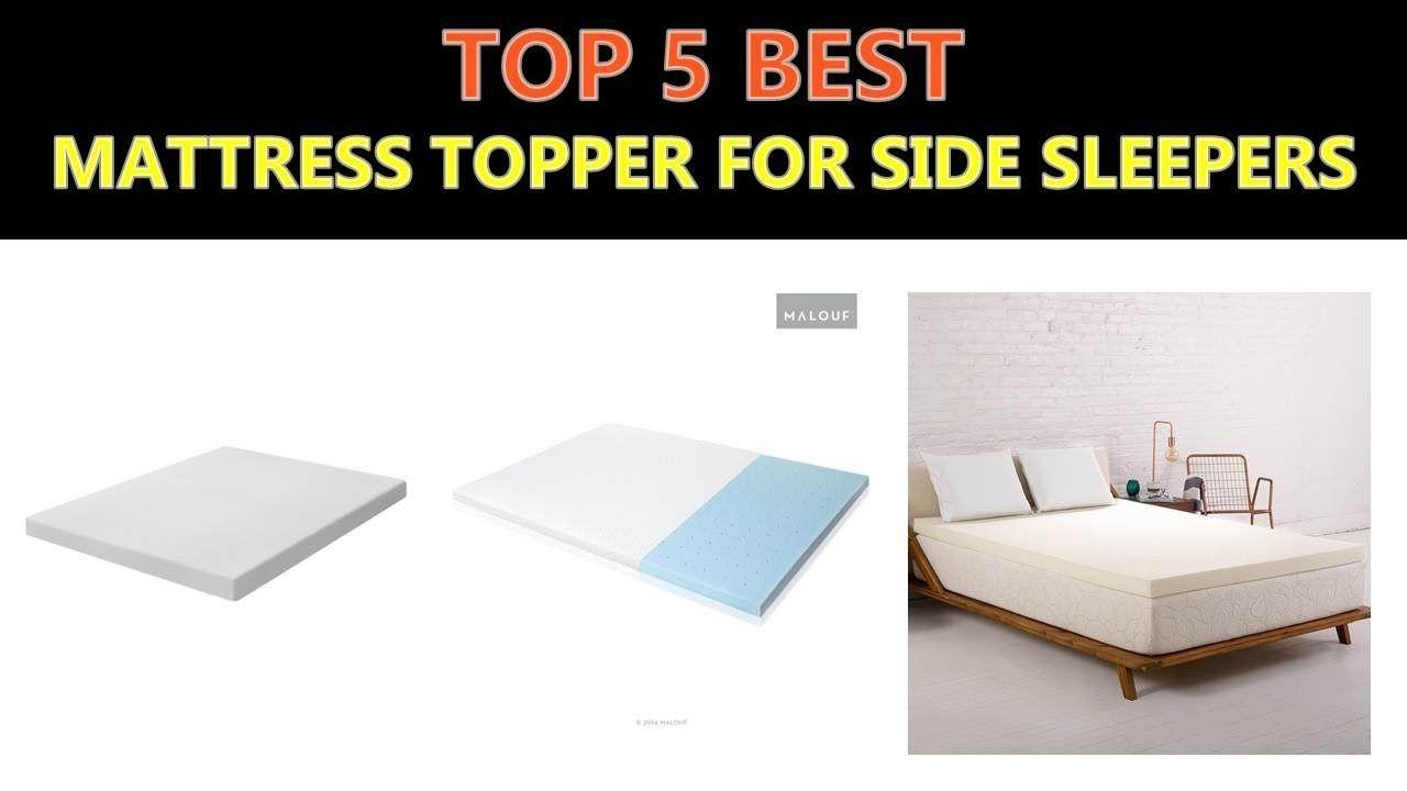 Best Mattress Topper For Side Sleepers 2018 Best Mattress