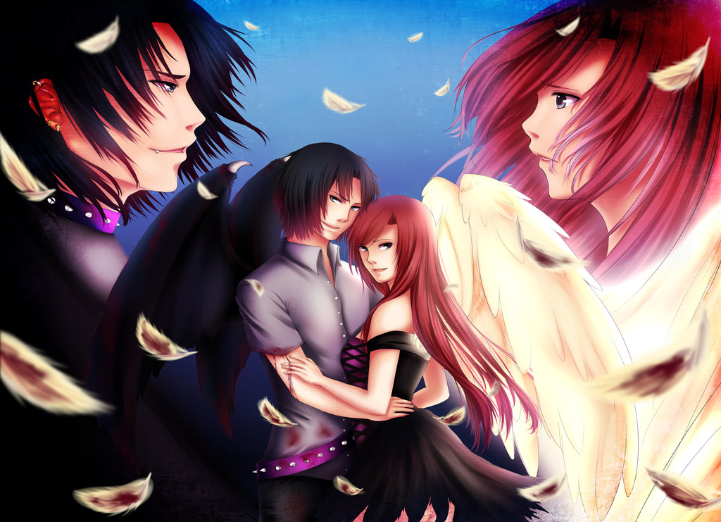 Angels And Demons Love Anime | www.pixshark.com - Images ...