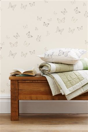 Buy Butterfly Wallpaper from the Next UK online shop