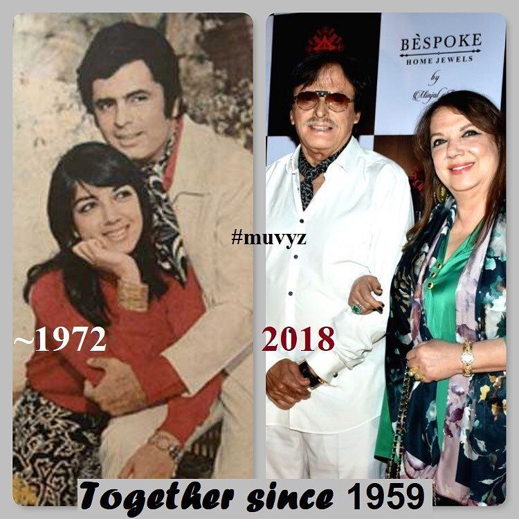 sanjaykhan #zarinekhan #bollywoodflashback #70s #nowandthen #couplegoals  #couplesgoals #muvyz #instapic #instago… | Vintage bollywood, Bollywood  stars, Sanjay khan