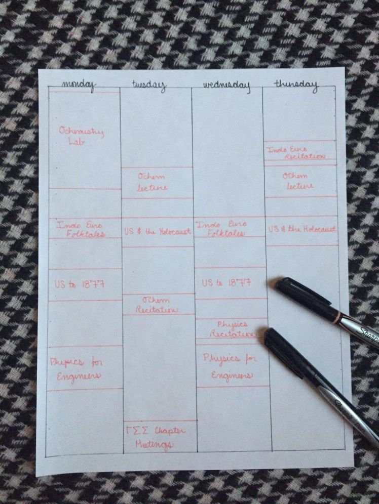How to Create a Study Schedule | Good advice | Pinterest | Study ...