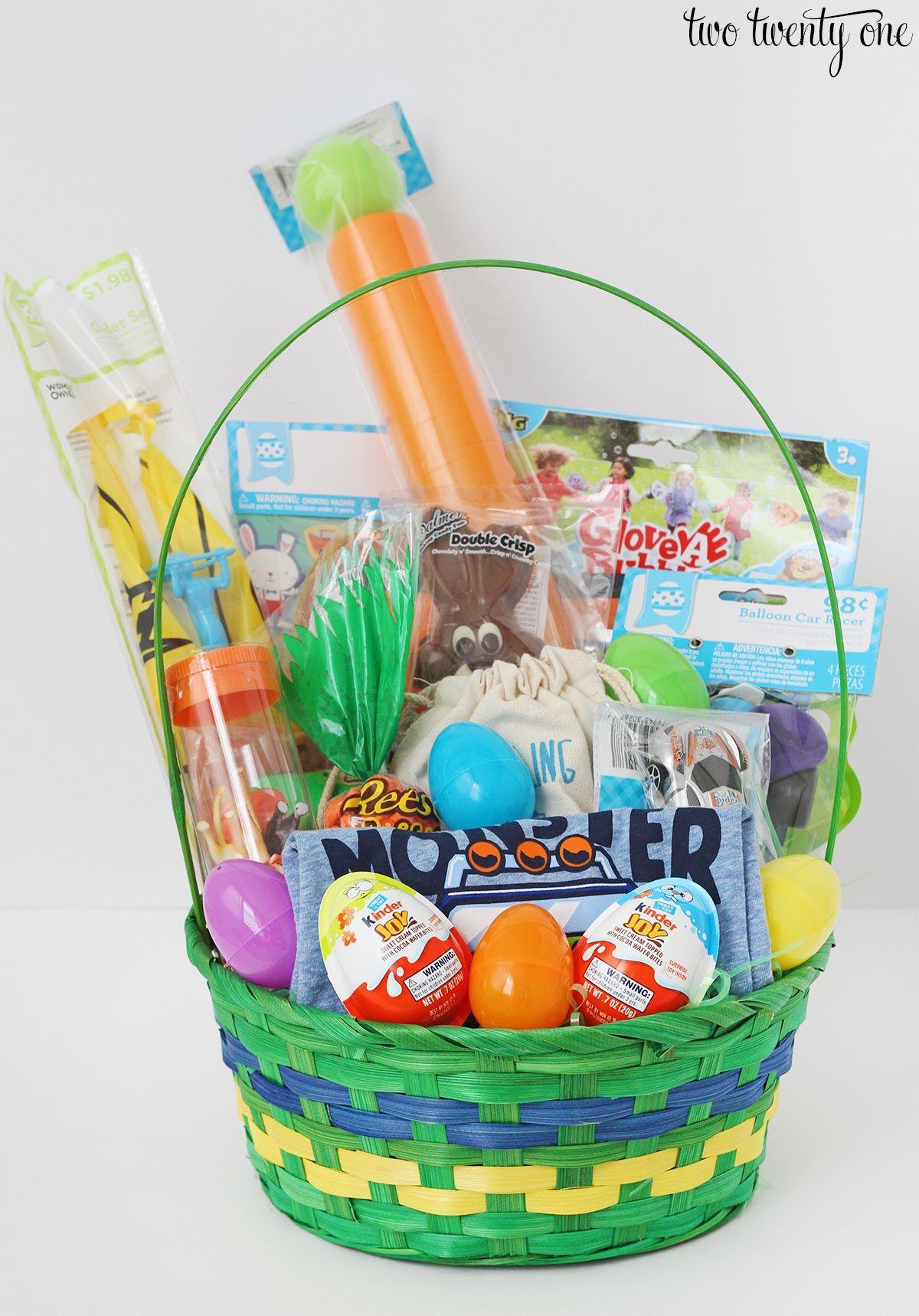 Easter Basket Ideas For Toddlers Easter Baskets Diy Toddler Easter Diy