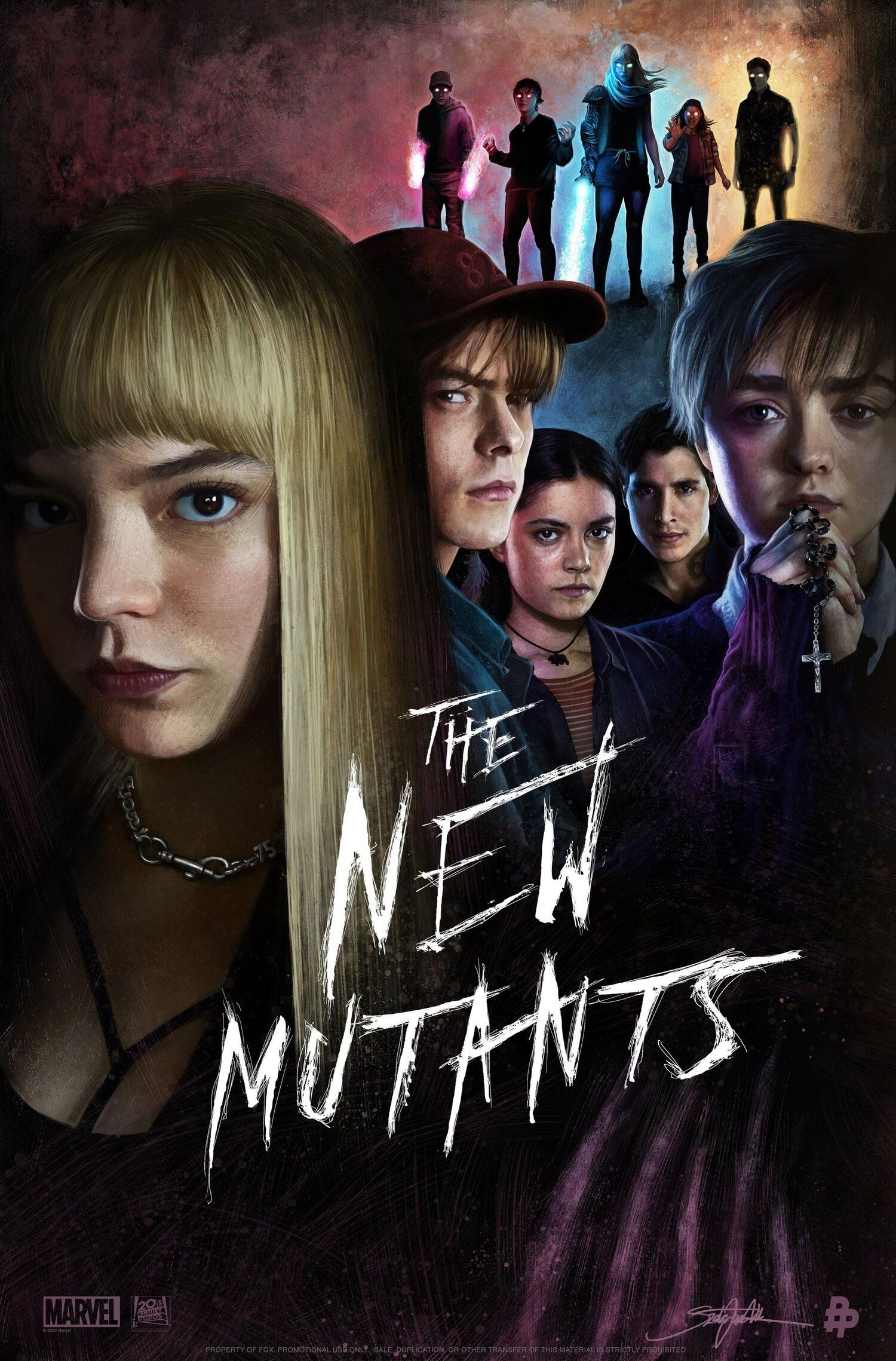 Cinephile Monthly Movie Digest October 2020 Natetheworld New Mutants Movie The New Mutants Mutant