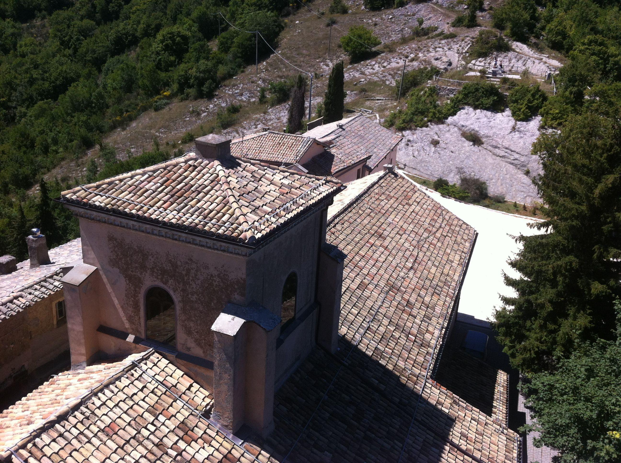 Santuario della Mentorella - Capranica Prenestina (RM) The secret place of prayer of Pope Wojtyla