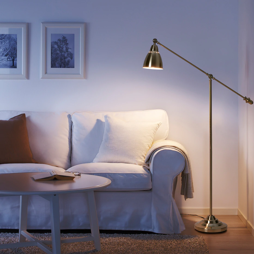 BAROMETER Arbetslampa, mässingsfärgad IKEA i 2020