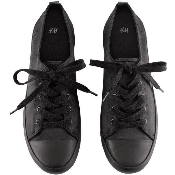 H\u0026M Sneakers | Sneakers, Black sneakers