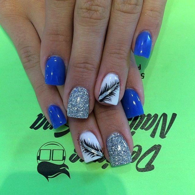 Pin de Linzy Burkholder en Nails | Pinterest | Diseños de uñas, Arte ...