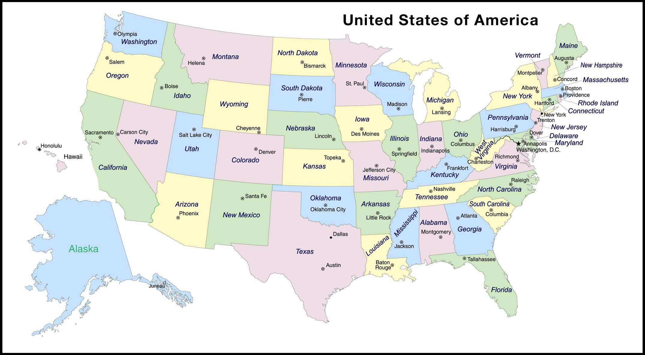 14++ United states states and capitals Most Effective