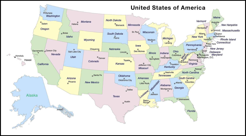 Web Design & Development | Pix | States, capitals, U.s. ...