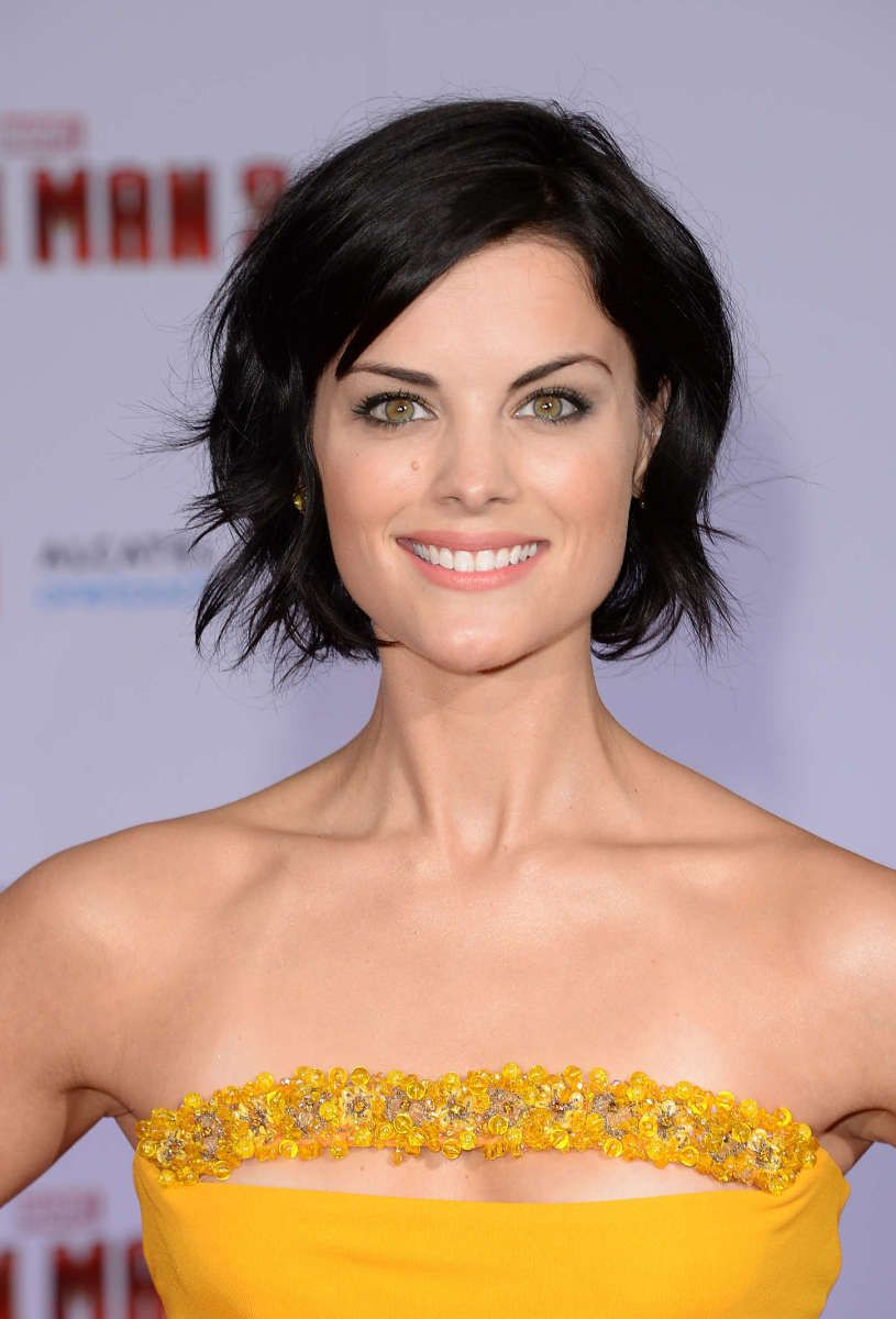 Jaimie Alexander at the 2013 premiere of 'Iron Man 3.'