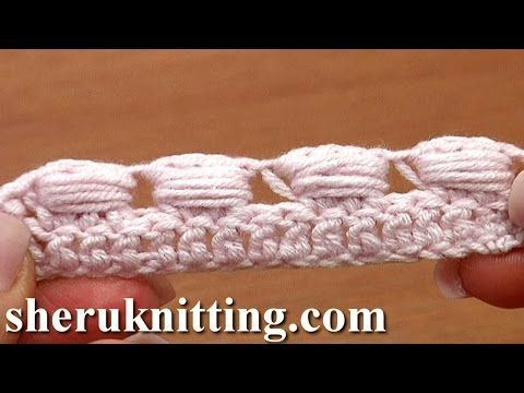 Work Puffy Bullion Block Stitch Crochet Tutorial 40 Part 3 of 7 ...