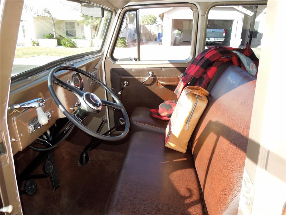 1964 Willys Jeep Station Wagon Interior 138136 Willys Jeep Willys Willys Wagon