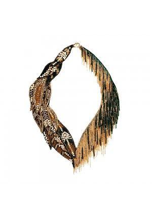 BEGADA - Gold Leaf Navette