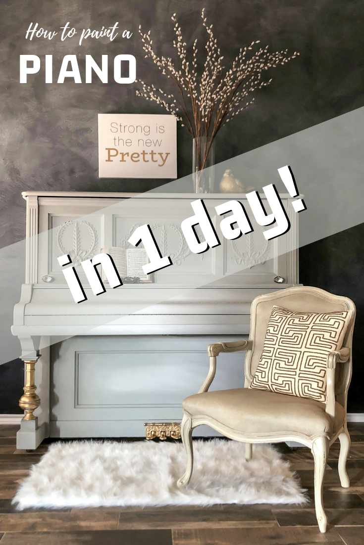 How To Paint A Piano In 1 Day Diy Furniture Renovation Piano Decor Painted Pianos