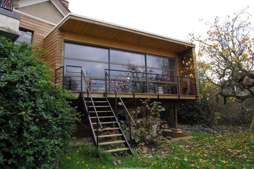 chazarenc2 extension extension maison agrandissement maison et maison. Black Bedroom Furniture Sets. Home Design Ideas