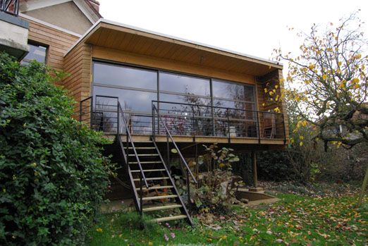 chazarenc2 | Extension | Pinterest | Extension veranda, Vérandas ...