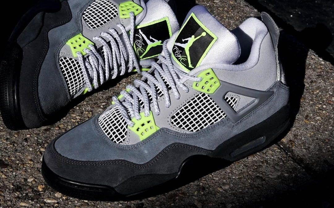 The Air Jordan 4 Neon Is Finally Dropping This Weekend Air