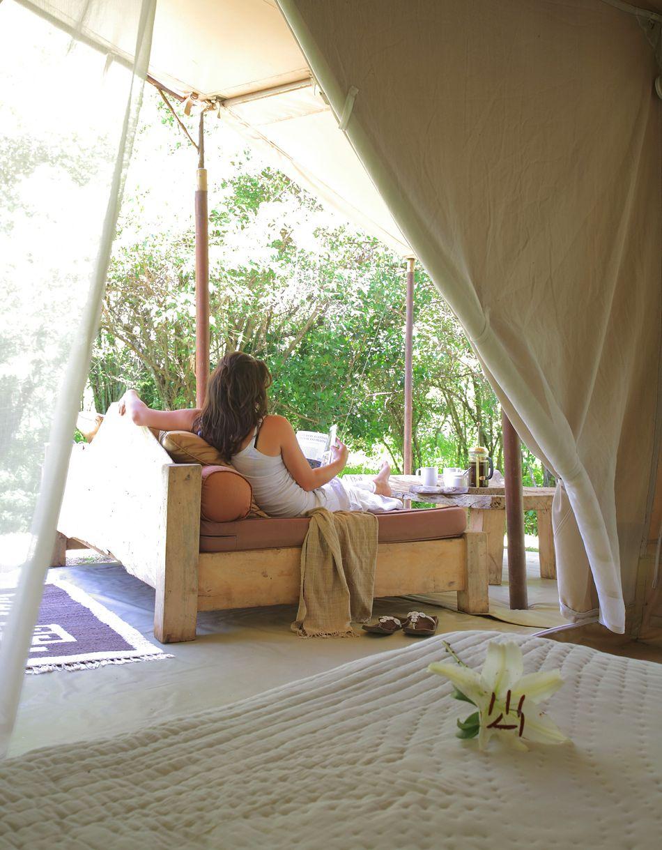 » Un hôtel de luxe au coeur de la réserve naturelle du