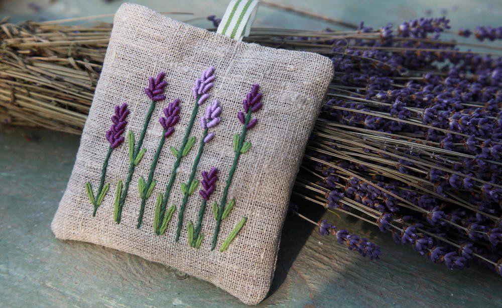 Dekorative Lavendelsackchen Selber Nahen Lavendelsackchen Lavendel Und Duftsackchen