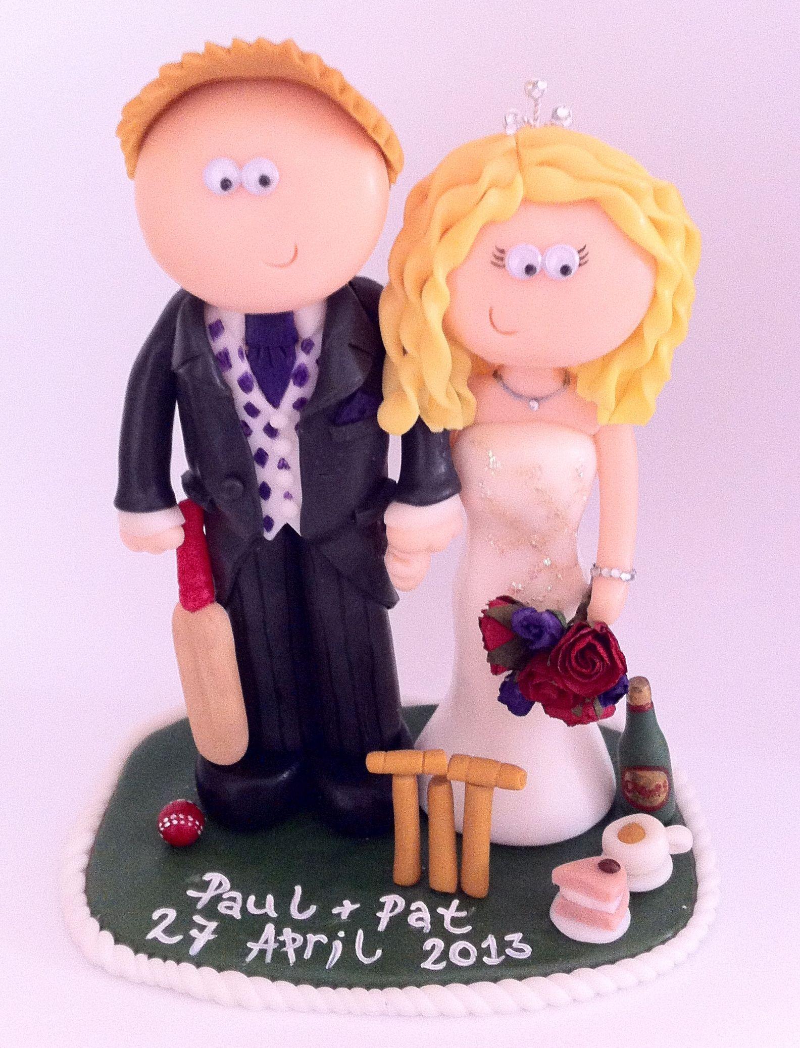 Cricket loving Wedding cake topper. | wedding | Pinterest | Wedding ...
