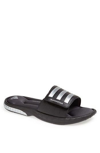 fe4574539 Men s adidas  Superstar 3G  Slide Sandal