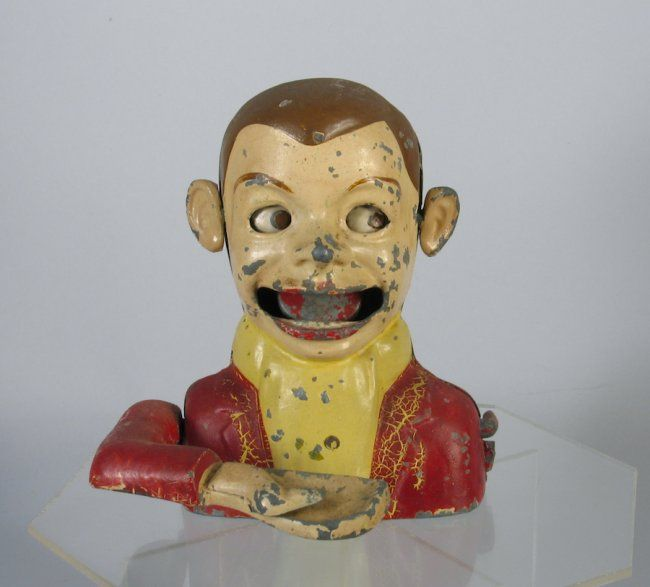 1930s Starkies English Archie Andrews Mechanical Bank : Lot 41A