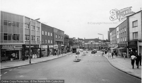 Hornchurch High Street From Francis Frith I Lived In Hornchurch 1957 1967 With My