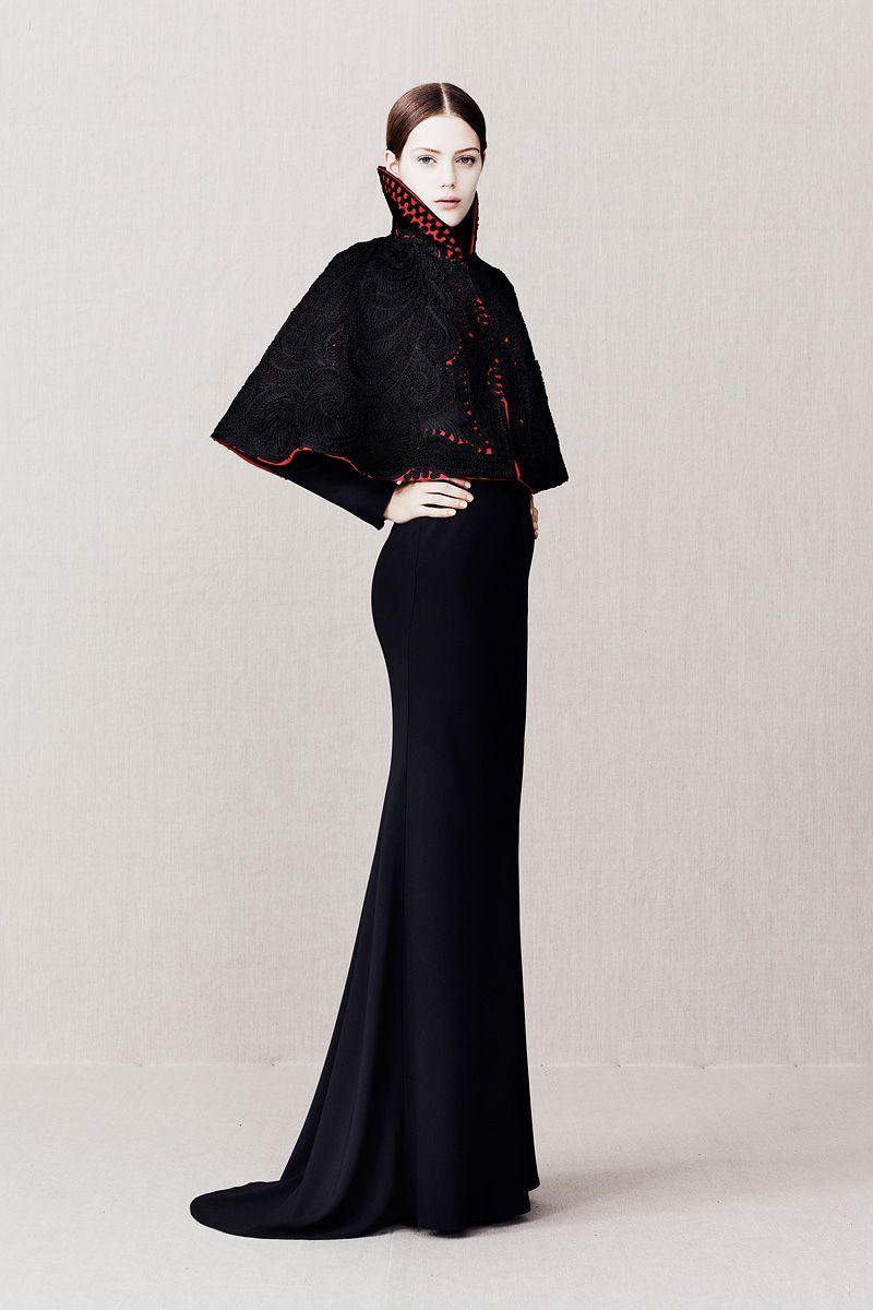 Alexander McQueen Fall 2014 Evening Dresses