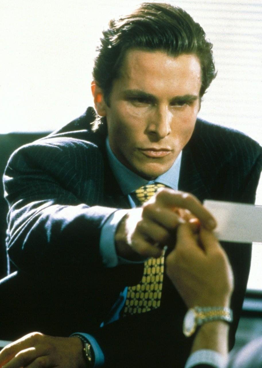 Christian Bale In American Psycho Shots I Like Pinterest