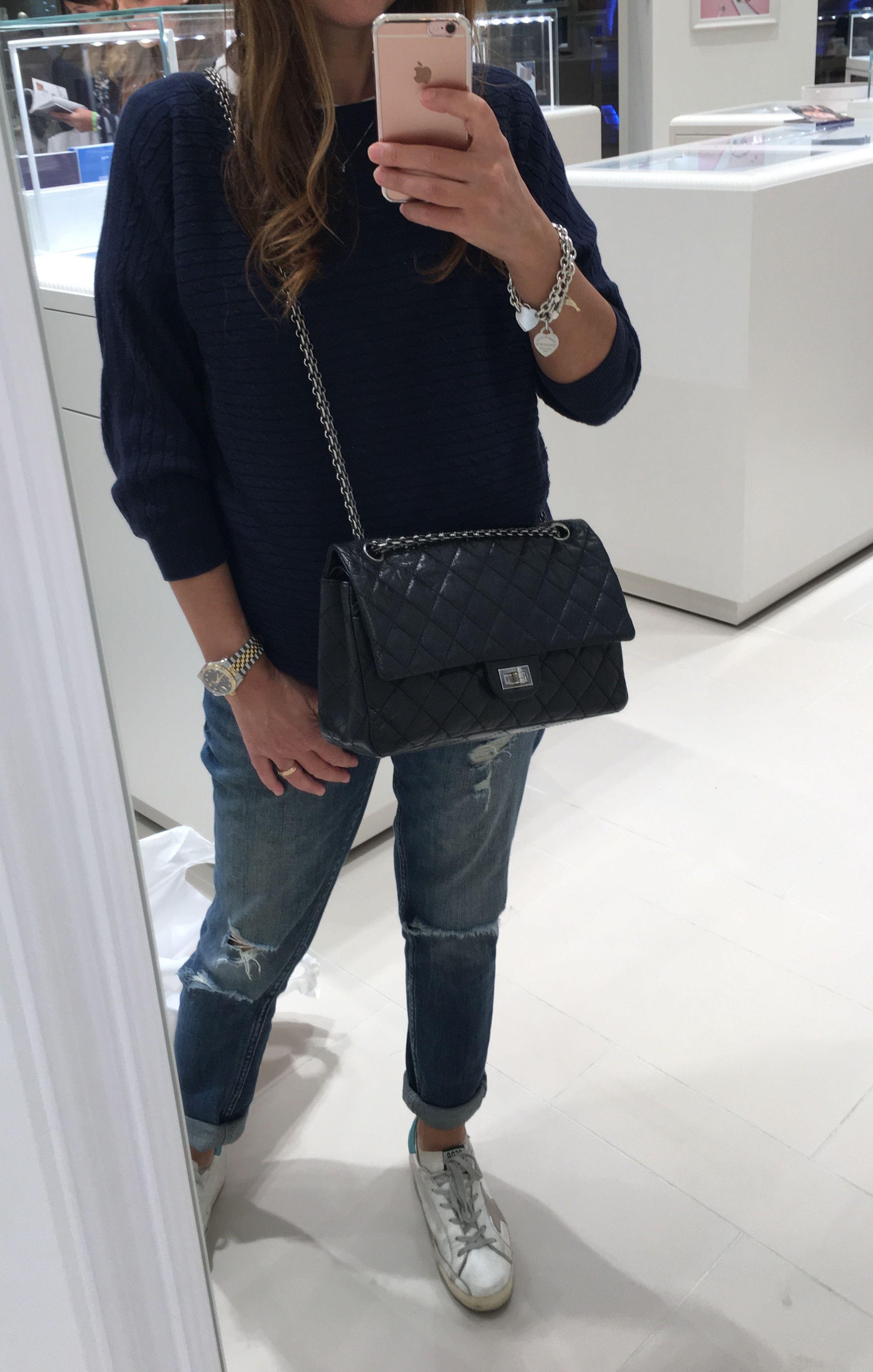 My Chanel Reissue Bag 226 Chanel Reissue Chanel Handbags Chanel