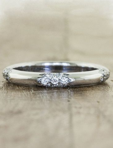 abby diamond wedding bands handmade wedding rings and recycled materials