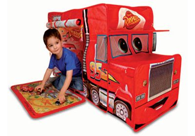 Cars Mack Play Tent - Helps Kids Widen Their Imagination Through Role Playing  sc 1 st  Pinterest & cars-mack-play-tent | cars mack tent | Pinterest | Tents Role ...