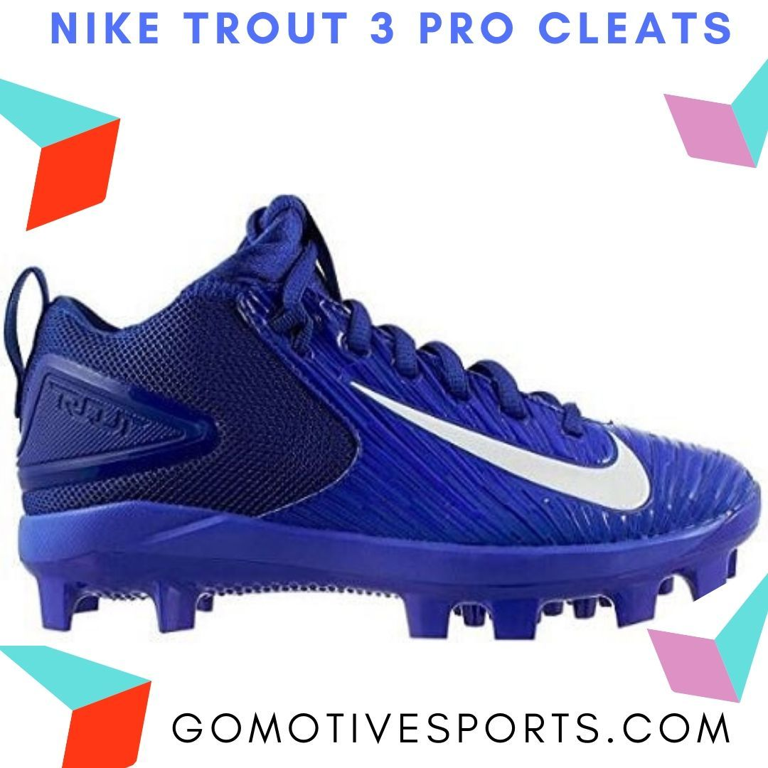 Can You Wear Baseball Cleats For Football Nike Trout 3 Pro Cleats Baseball Cleats Cleats Better Baseball