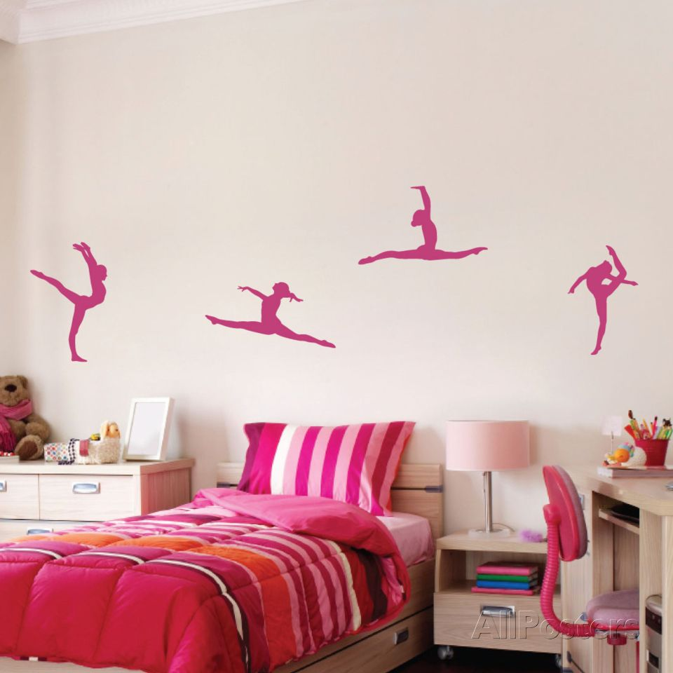 Gymnastics gymnastics wall decal at allposters amipublicfo Images